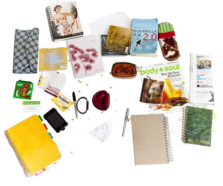Keila's Bag contents