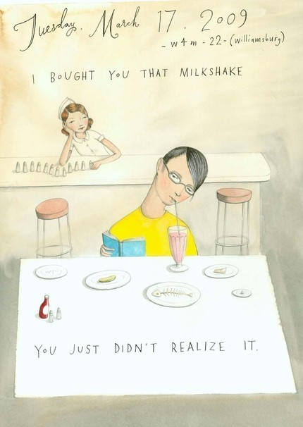 I Bought you That Milkshake