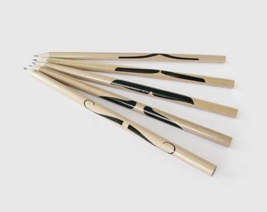 mustache pencils
