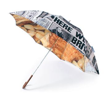 the fish and chips umbrella