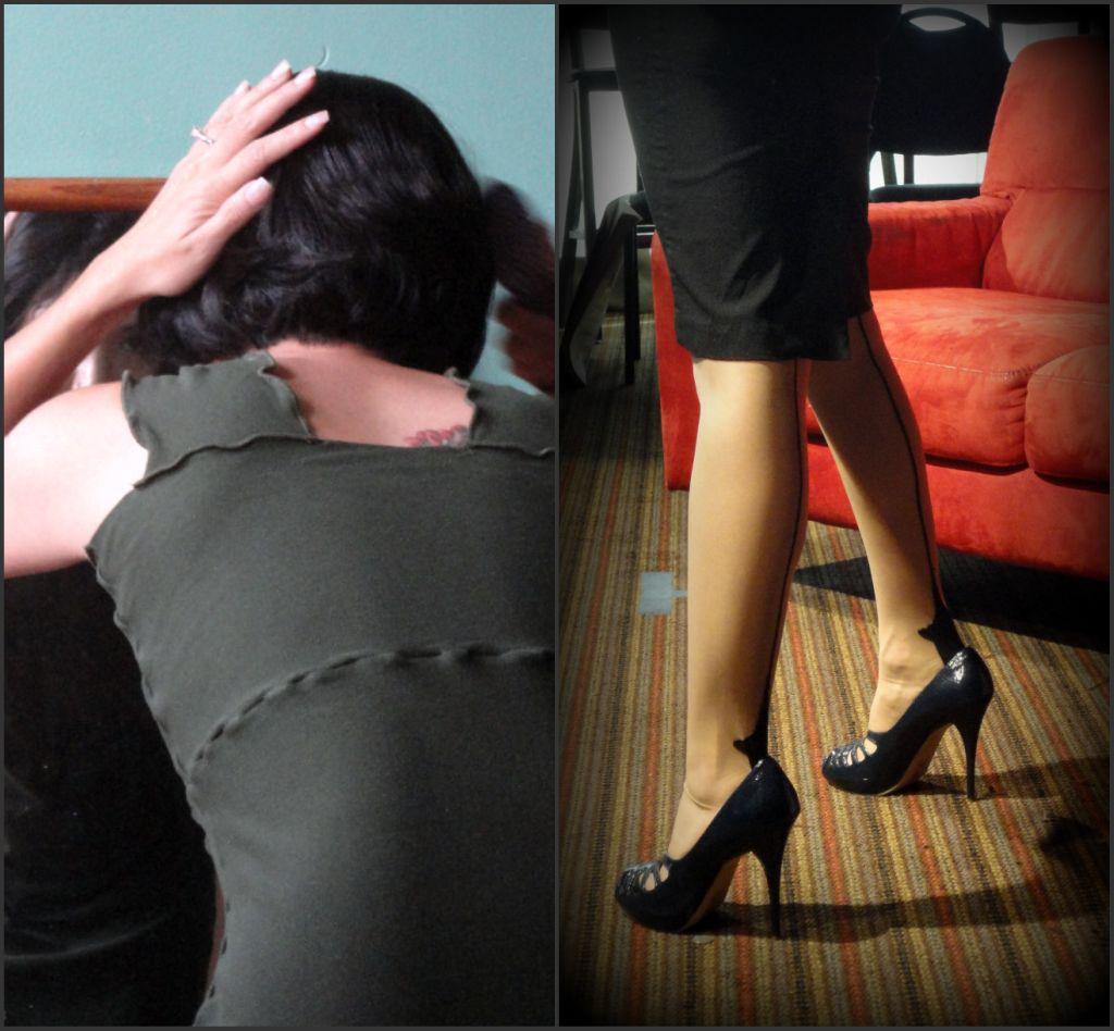 legs collage