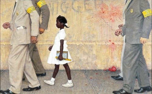 Norman Rockwell and Ruby Bridges