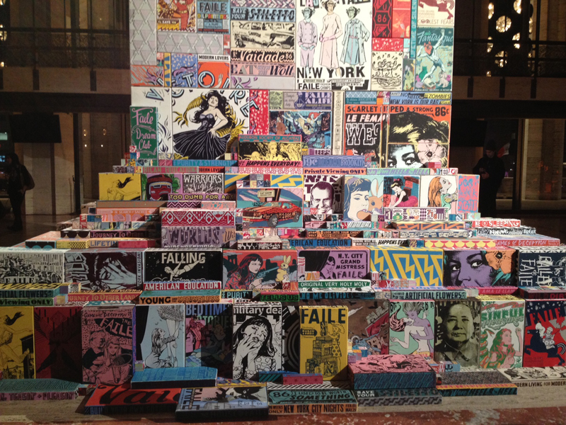 FAILE AND THE NEW YORK CITY BALLET