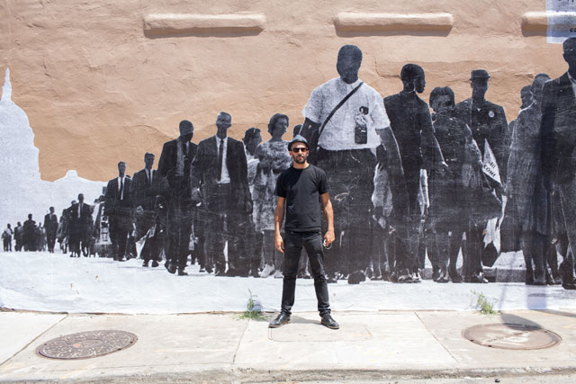 JR Pays Tribute to the Civil Rights Movement with a Mural