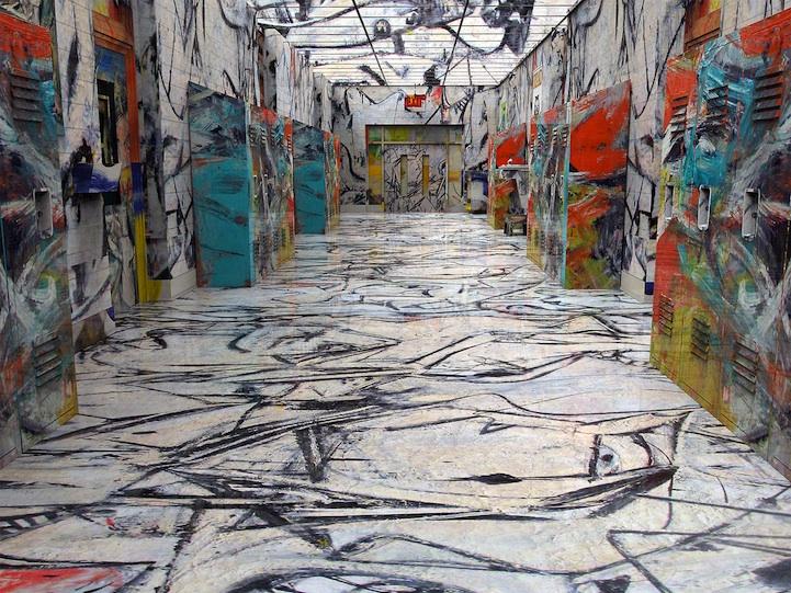 De Kooning Hallway