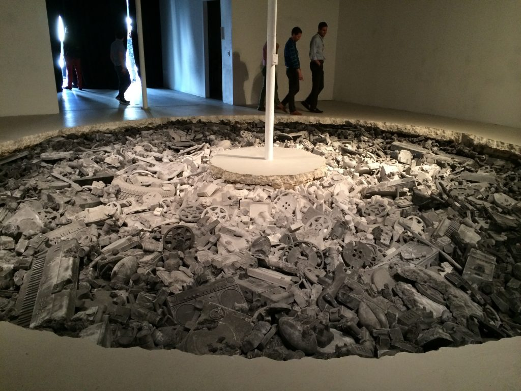 Daniel Arsham_Welcome to the Future1