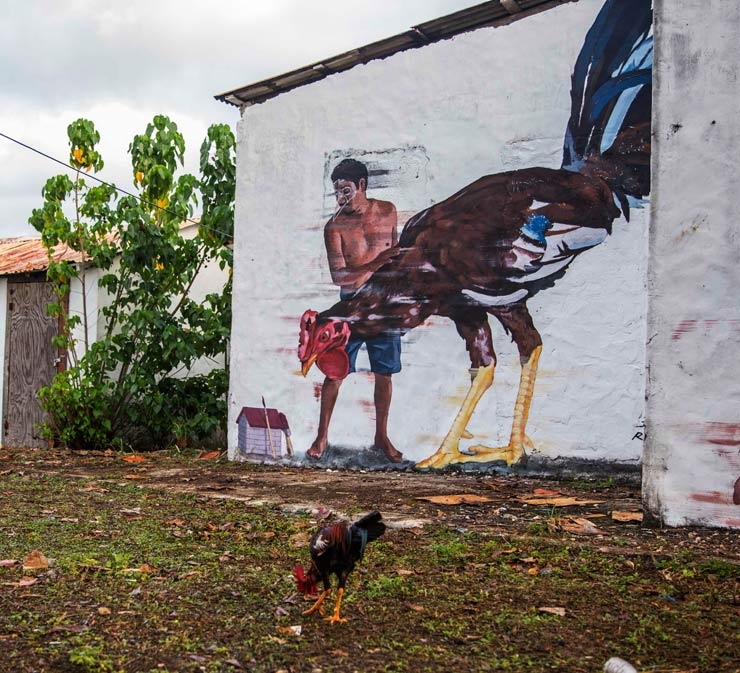 ade. ArteSano Project. Rio San Juan, Dominican Republic. December, 2014. (photo © Mario E Ramirez/TostFilms.com)