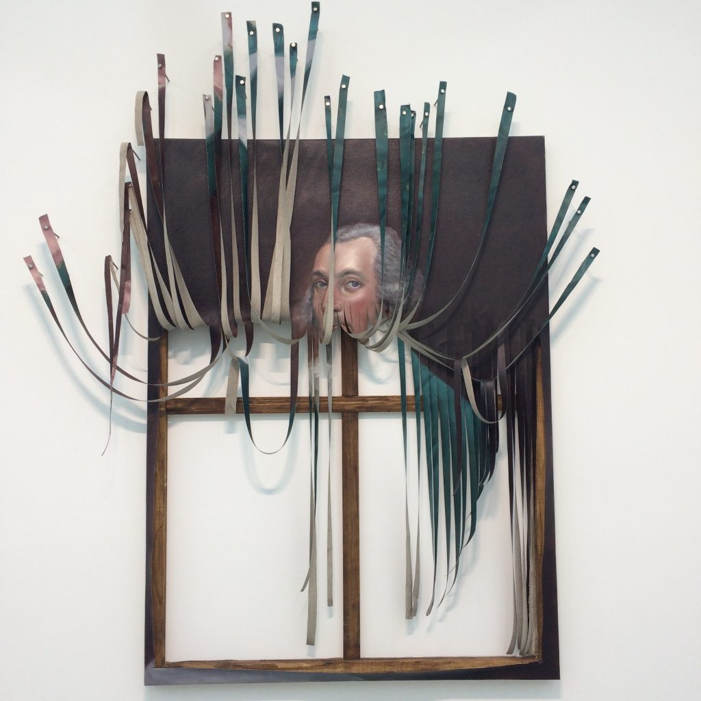 Spotlight: Titus Kaphar, Stripes, (2014).