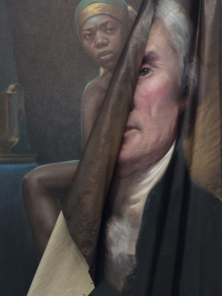 Spotlight Titus Kaphar, to be titled, (2014).