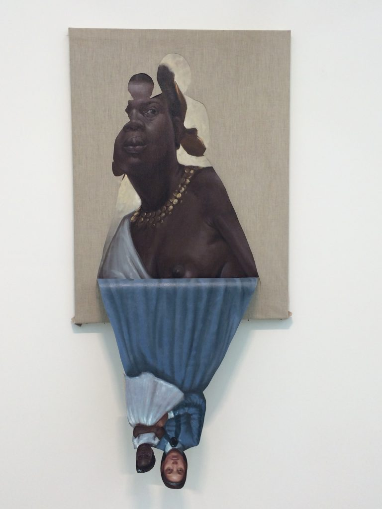 Spotlight Titus Kaphar, to be titled, (2014)