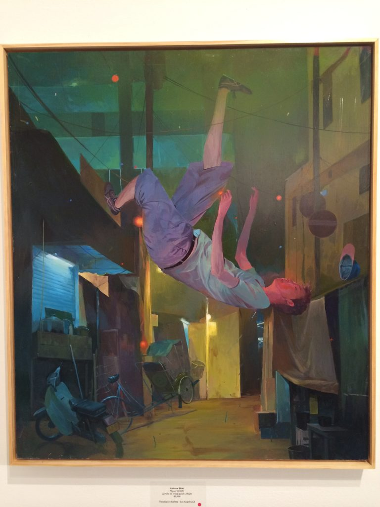 Andrew Hem, Flipper 2015 - Thinkspace Gallery