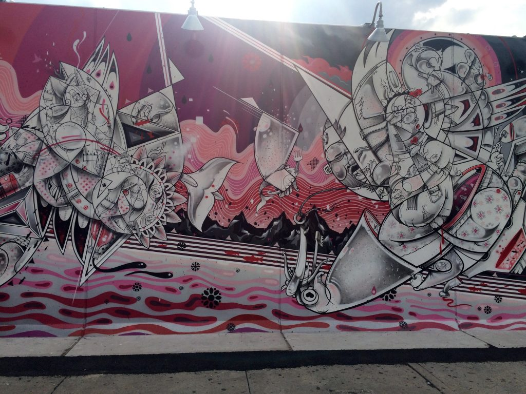 How & Nosm for Coney Art Walls