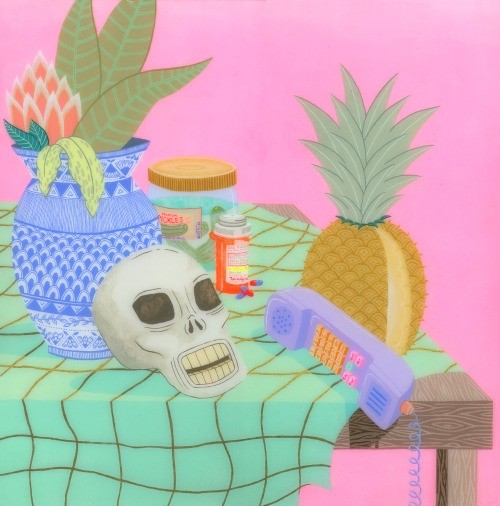 Still Life with Pineapple_neon crime scenes of kristen liu wong