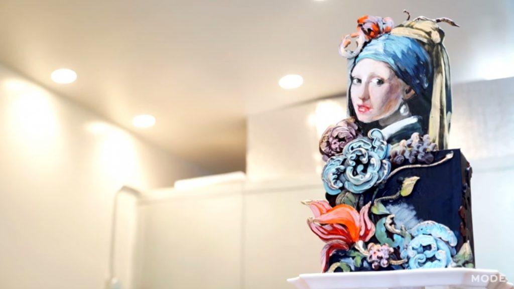 Cake Vermeer Creation