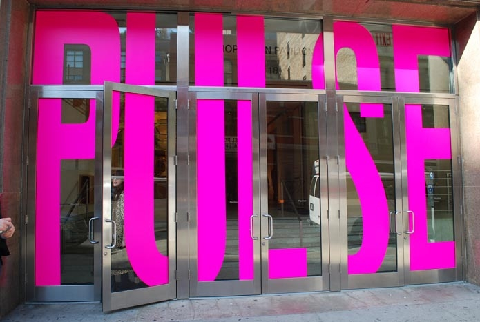 Pulse Art Fair NYC Front Entrance