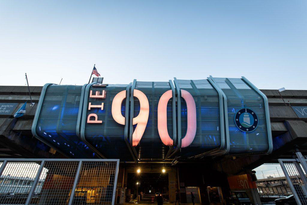 The Volta fair takes place at Pier 90. Photo: David Williams, courtesy Volta.