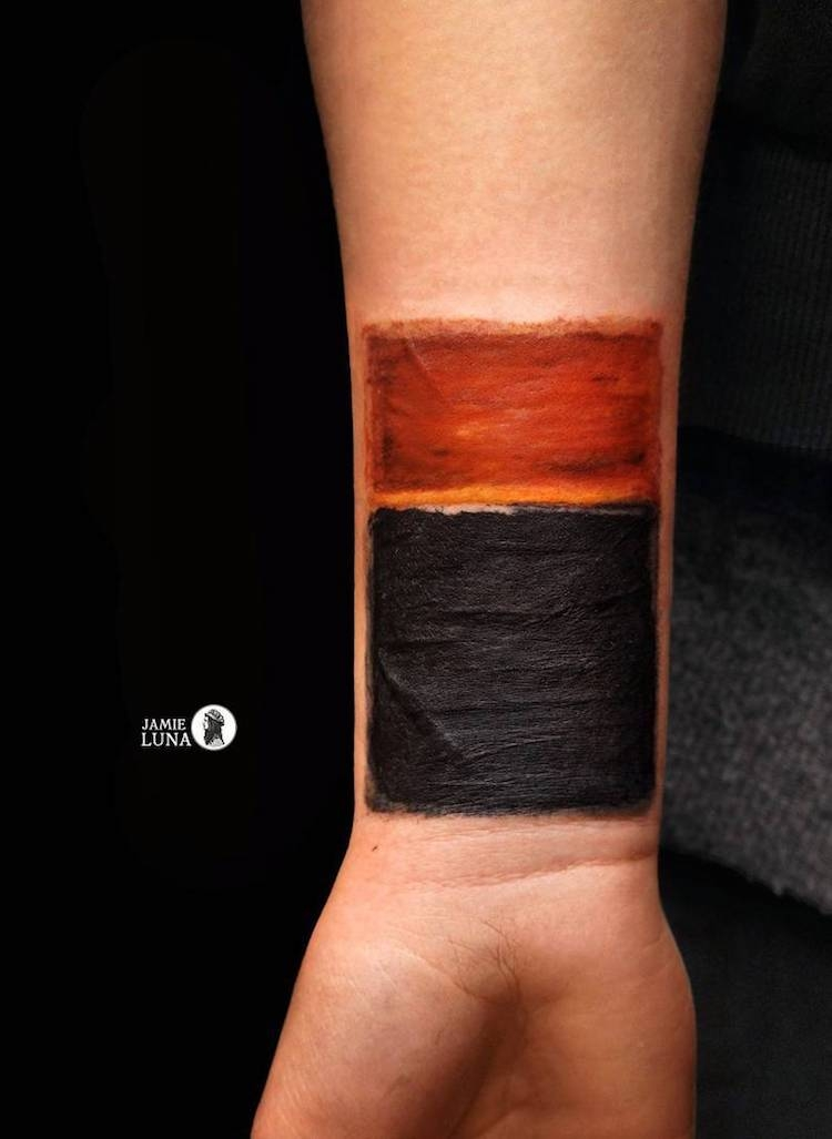 Art History Inspired Tattoos_Rothko