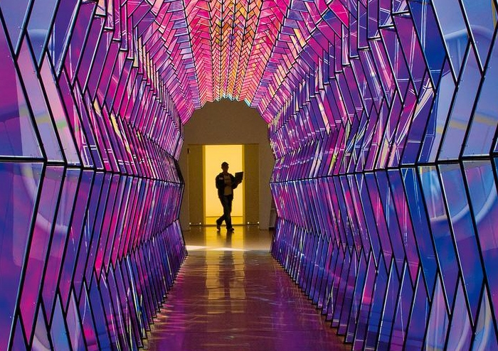 One-Way Color Tunnel by Olafur Eliasson – HAHA MAGAZINE Olafur Eliasson One Way Colour Tunnel