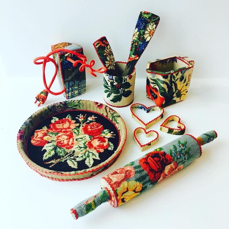 The Cross Stitch Lure of Ulla Stina Wikander