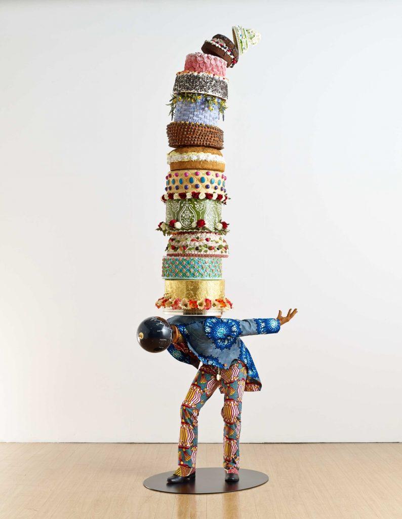 SPOTLIGHT: Conceptual Artist Yinka Shonibare, MBE Sculpture, Cakeman II