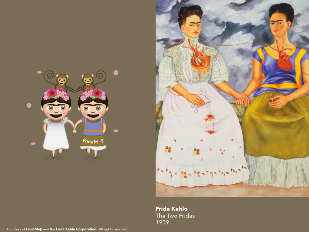 Frida Kahlo Emojis _The Two Fridas