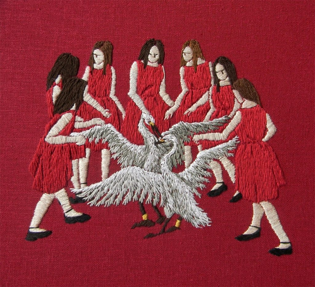 The Embroidery of Michelle Kingdom